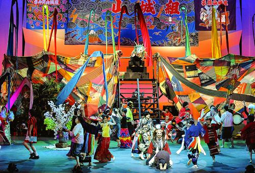 大団円の祭りの場面